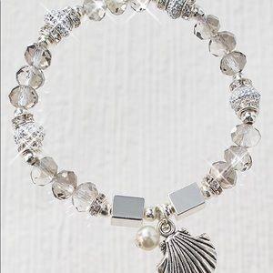 Jewelry - Coastal charm stretch bracelet